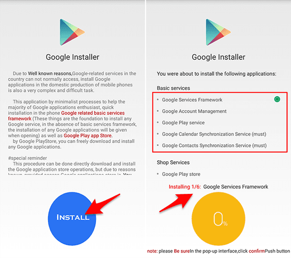 cara install google playstore rom china