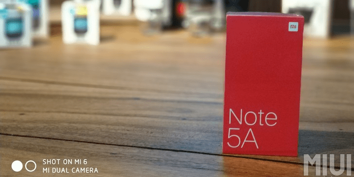 xiaomi redmi note 5a manual