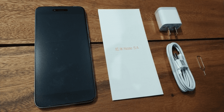 Unboxing Redmi Note 5A