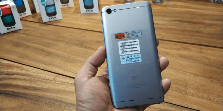 Design & Dapur Pacu Redmi Note 5A