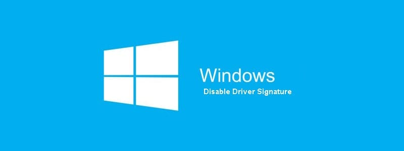 Cara Mudah Disable Driver Signature Enforcement Windows 7/8/10