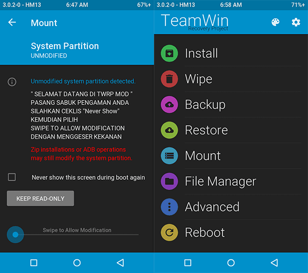 twrp-recovery-3.0.2.0 redmi 2/prime