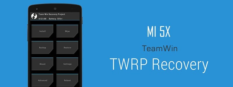 Cara Pasang (Install) TWRP Recovery & Root MI 5X Tiffany