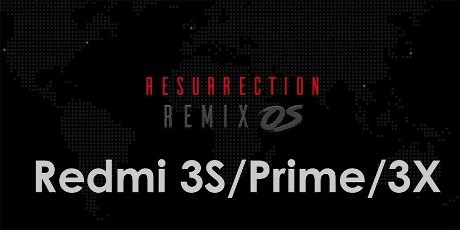 Cara Update Redmi 3S/Prime/3X (Land) Ke ROM Resurrection Remix v5.8.4