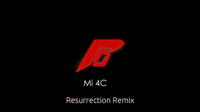 Cara Mengganti ROM China MI 4C Ke ROM R Remix 5.8.5 Final