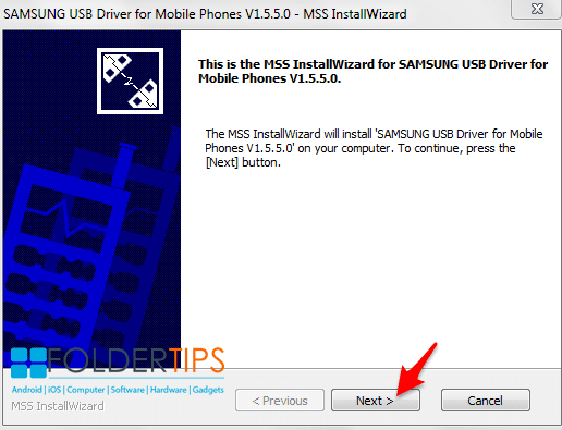 Cara Memasang / Install Samsung Android USB Driver Di Laptop/PC Windows