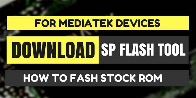 Cara Flash HP Android dengan SP Flash Tool (SoC Mediatek)