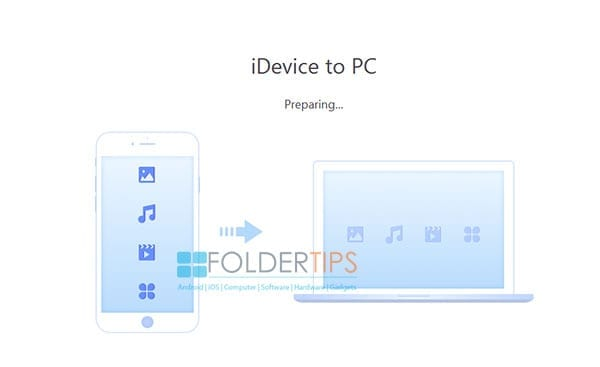 transfer iDevice to PC